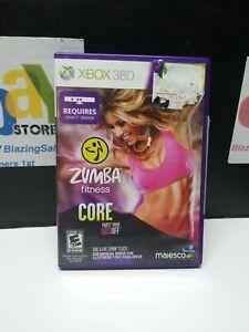 Zumba Fitness Core (Microsoft Xbox 360, 2012) WITH MANUAL