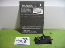 Axis & Allies D-Day Tank Obstacle with card 45/45