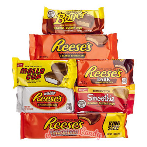 Erdnussbutter-Törtchen probieren:  7 Sorten Peanut Butter Cups Reeses  Boyer