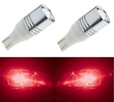 LED Light 5W 921 Red Two Bulbs Back Up Reverse Replacement Fit OE Lamp Show
