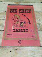 VINTAGE STUART HALL BIG CHIEF TABLET Used W Writing 39 cents