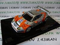 voiture 1/43 IXO 24 Heures MANS SPYKER C8 spyder GT2R #85 2006 LMM223 Crevels