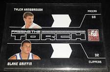 Blake Griffin/T.Hansborough 2009-10 PASSING THE TORCH BLACK RC Insert (#d 11/25)