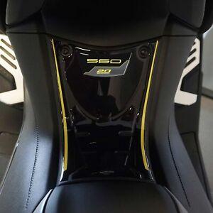 Adesivo 3D Pedana anteriore compatibile con Yamaha Tmax 560 20Th Anniversary