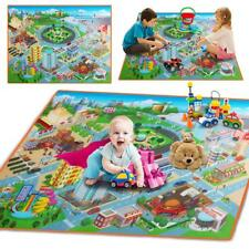 Large 120cm Baby Gym Route Map Crawling Pad Waterproof Foldable Climb Play Mat