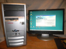 VINTAGE Windows 98 SE Nvidia NFORCE 2 DOS Gaming, Industrial Desktop Computer PC