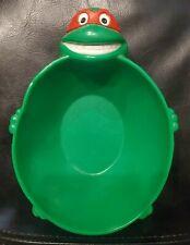 Teenage Mutant Ninja Turtles Raphael Cereal Bowl TMNT 1990 Mirage Studios