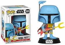 Star Wars Funko POP Boba Fett Exclusive Vinyl Bobble Head 305 [Animated]