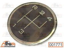 PASTILLE NEUVE pour pommeau grille levier vitesse de Citroen 2CV MEHARI  -1771-