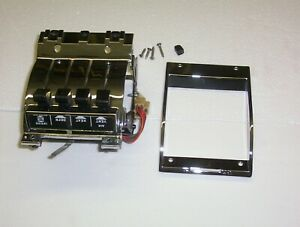1957 CHEVY Chevy Quality Restoration of Deluxe heater Control 210-Belair