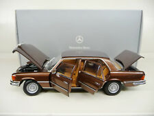 1:18 Norev Mercedes 450SEL 6.9  W116 brown 1976 Dealer Edition NEW FREE SHIPPING