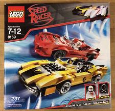 Lego 8159 Speed Racer Racer X & Taejo Togokahn New In Sealed Box