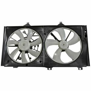 Dual Radiator Cooling Fan Assembly for Toyota Venza Avalon Camry Lexus ES350