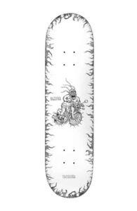 "BAKER SKATEBOARDS - BACA STIPPLE SKATEBOARD DECK - 8.25"" NEW FREE POST"