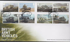 More details for 2021 fdc -british army vehicles set-i lincoln first british tank pmk - p f