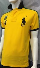 Ralph Lauren Brazil Flag Polo  Shirt Custom Fit Size XL