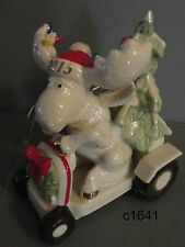 Lenox 2013 ANNUAL MERRY MOOSE BRINGING HOME THE TREE ornament - new in box