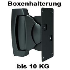 1 PAAR SCHWERLAST LAUTSPRECHER/BOXEN HALTER HALTERUNG Top bis 10kg