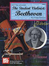 El estudiante Violinista Beethoven Violin Y Piano Partituras Libro puntuación & Part