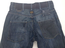 EUC - RRP $289 - Mens Stunning G-Star Raw 'FIRE ELWOOD' Indigo Jeans