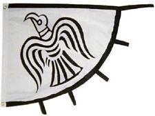Viking Raven Flag Vikings Banner Pennant 31x36 inch Norse Pirate Ship nordic