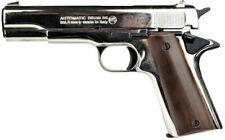 Pistola a salve Bruni 96 calibro 8 mm nickel