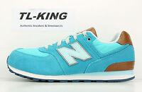 New Balance KL574U9G Youth Big Kids Admiral Crusin Blue Brown Classic Sneaker KG