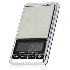 0.01 g - 500 g Precision Poche Digital Balance Pierres précieuses Bijoux Or