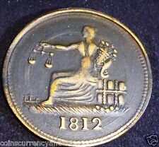 Lower Canada Token LC-48C2 CONDITION: AU+