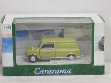 Mini Panel Van / Kombi in gelbgrün, Cararama/Hongwell, OVP, 1:43