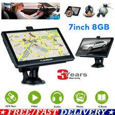 "7"" Touch LCD FM Car Truck GPS Navigation System SAT NAV Navigator 8GB Free Maps"