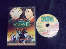"USED DVD Movie ""Walt Disney Mulan II ""    (165)"