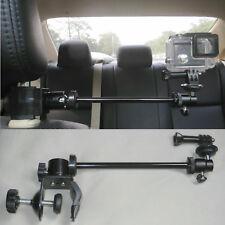 Video Camera Car Headrest Mount suitable for GoPro Camcorders & Smartphones