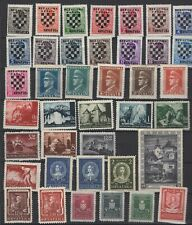 Croatia lot MH stamps