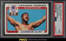 1983 Topps M&M'S Olympic Boxing Heroes Cassius Clay Muhammad Ali #7 PSA 9 MINT