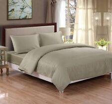 100% Cotton Sateen Bed Sheet Set - King Size, Sage