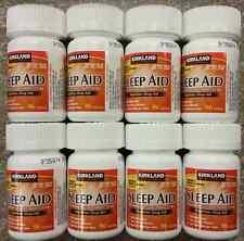 Kirkland Sleep Aid Doxylamine Succinate 25 mg 768 Tablets Sleeping Pills generic