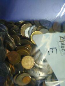 5lb pounds foreign / world bulk lot coins #E