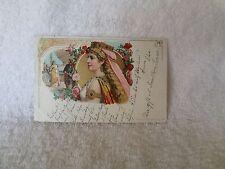 1898 Postcard Richard Wagner Series No 1 ISOLDE Bruning 6989 Germany Stassen ART