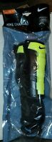 Nike Charge Soccer Shin Guards, XS Youth/Teen/Junior/Kids Black/Yellow NIP B1