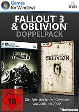 Fallout 3 & The Elder Scrolls: Oblivion Doppelpack für PC | NEUWARE | dt.