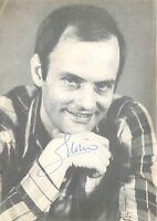Autografo del cantante Enrico Musiani (Livorno, 31 agosto 1937)