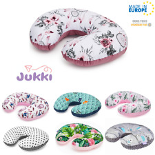 Breast FEEDING PILLOW Maternity Pregnancy Baby Nursing MINKY U-Shape *MADE IN EU