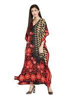 Floral Paisley Kaftan Boho Women Maxi Long Bohemian Summer Dress