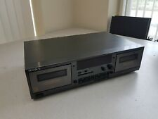 Sony Tc-Wr531 Dual Stereo Cassette Tape Deck Dubbing Tested Working