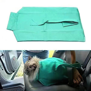 Pet Sling Carrier Travel Tote Shoulder Cat Nail Clipping Cleaning Grooming Bag