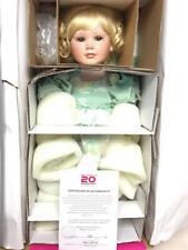 "Nrfb 20th Anniv Marie Osmond 17"" porcelain doll - Love Makes the World Go Round"