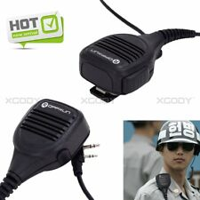 Walkie Talkie Shoulder Speaker Mic Heavy Duty For Baofeng PUXING 2-Way Radio