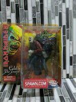 See Full Des. IRON Maiden Eddie  The Trooper SPAWN.COM  2002 w/flag & sword
