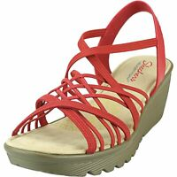 Skechers Women's Parallel - Crossed Wires Ankle-High Wedged Sandal
